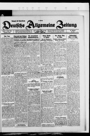 Deutsche allgemeine Zeitung vom 17.04.1926