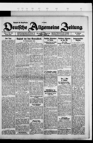 Deutsche allgemeine Zeitung vom 03.05.1926
