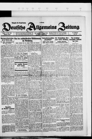 Deutsche allgemeine Zeitung vom 12.05.1926
