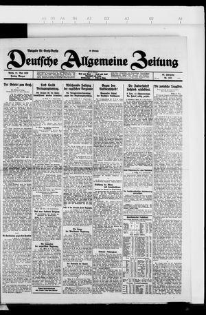 Deutsche allgemeine Zeitung vom 21.05.1926