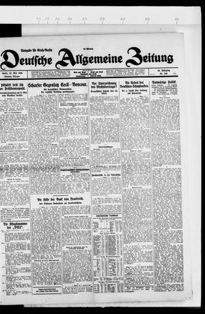 Deutsche allgemeine Zeitung vom 23.05.1926