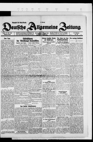 Deutsche allgemeine Zeitung vom 26.05.1926