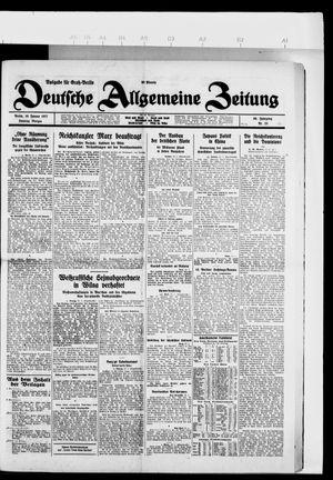Deutsche allgemeine Zeitung vom 16.01.1927