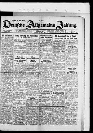 Deutsche allgemeine Zeitung vom 17.01.1927