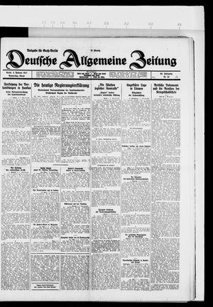 Deutsche allgemeine Zeitung vom 03.02.1927