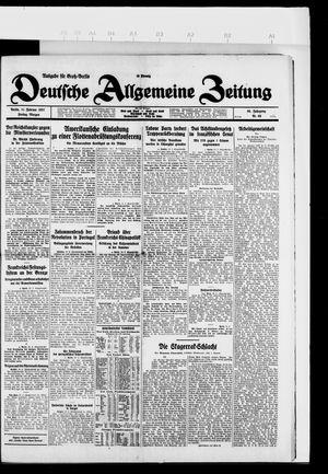 Deutsche allgemeine Zeitung vom 11.02.1927