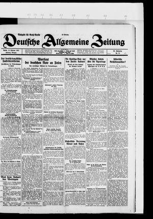 Deutsche allgemeine Zeitung vom 13.02.1927