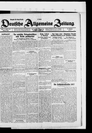 Deutsche allgemeine Zeitung vom 14.02.1927