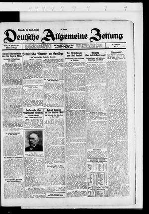 Deutsche allgemeine Zeitung vom 16.02.1927