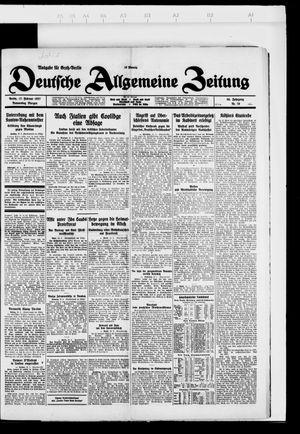 Deutsche allgemeine Zeitung vom 17.02.1927