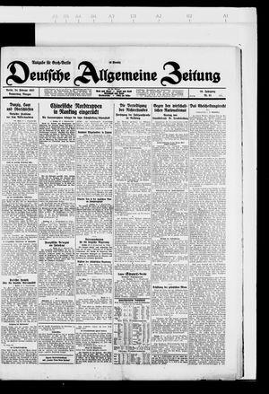 Deutsche allgemeine Zeitung vom 24.02.1927