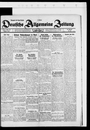 Deutsche allgemeine Zeitung vom 02.03.1927