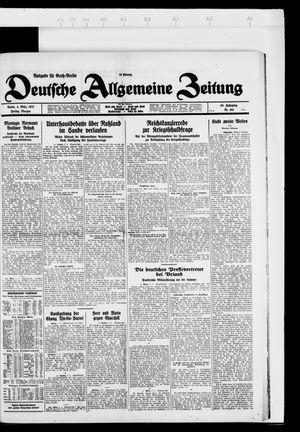 Deutsche allgemeine Zeitung vom 04.03.1927