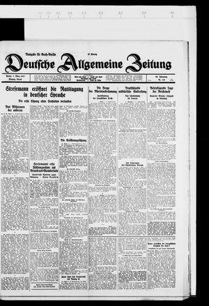 Deutsche allgemeine Zeitung vom 07.03.1927