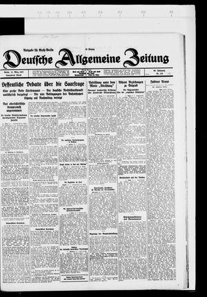 Deutsche allgemeine Zeitung vom 12.03.1927