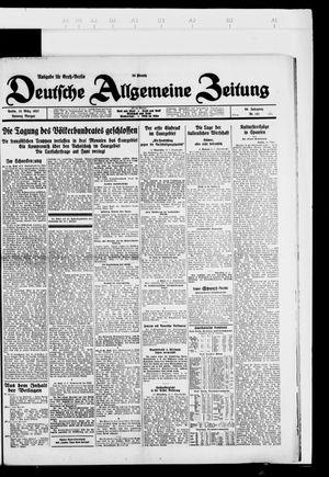 Deutsche allgemeine Zeitung vom 13.03.1927