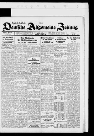 Deutsche allgemeine Zeitung vom 15.03.1927
