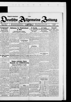 Deutsche allgemeine Zeitung vom 16.03.1927