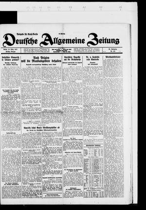 Deutsche allgemeine Zeitung vom 18.03.1927