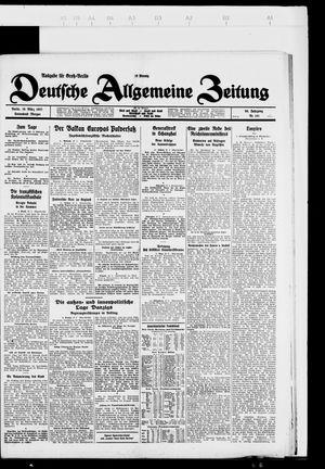 Deutsche allgemeine Zeitung vom 19.03.1927