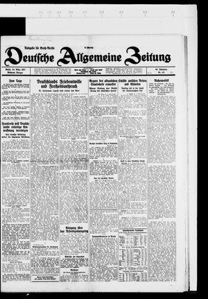 Deutsche allgemeine Zeitung vom 23.03.1927