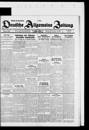 Deutsche allgemeine Zeitung vom 24.03.1927