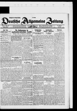 Deutsche allgemeine Zeitung vom 25.03.1927