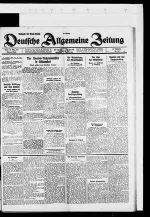 Deutsche allgemeine Zeitung vom 28.03.1927