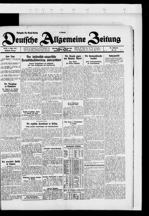 Deutsche allgemeine Zeitung vom 06.04.1927
