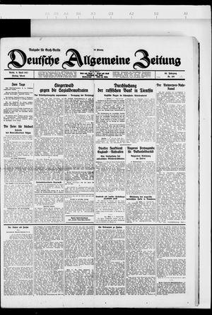 Deutsche allgemeine Zeitung vom 08.04.1927