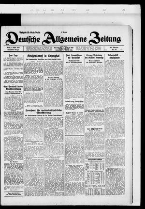 Deutsche allgemeine Zeitung vom 09.04.1927
