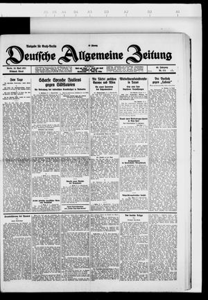 Deutsche allgemeine Zeitung vom 13.04.1927