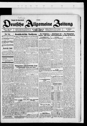 Deutsche allgemeine Zeitung on Apr 15, 1927