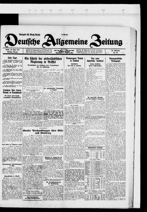 Deutsche allgemeine Zeitung vom 26.04.1927