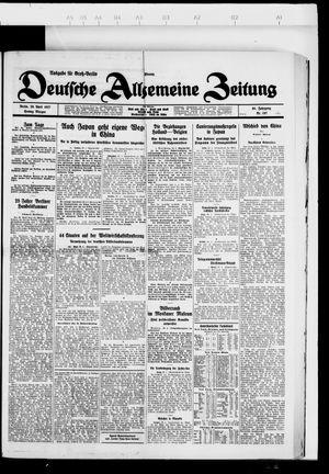 Deutsche allgemeine Zeitung vom 29.04.1927