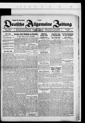 Deutsche allgemeine Zeitung on May 2, 1927