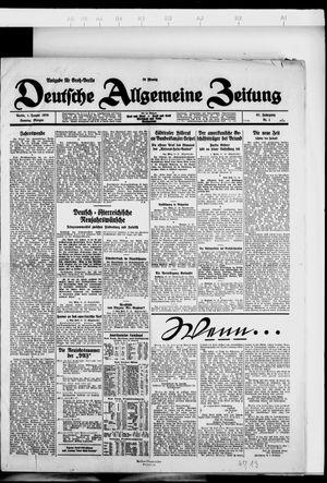 Deutsche allgemeine Zeitung vom 01.01.1928