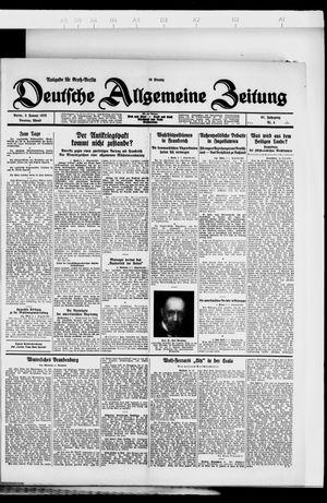 Deutsche allgemeine Zeitung vom 03.01.1928