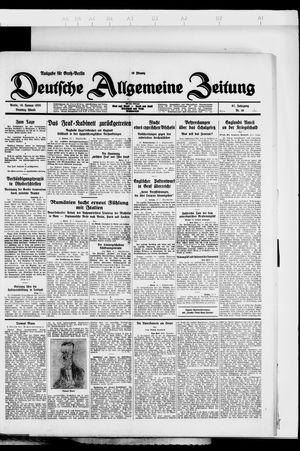 Deutsche allgemeine Zeitung vom 10.01.1928