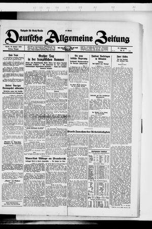 Deutsche allgemeine Zeitung vom 13.01.1928