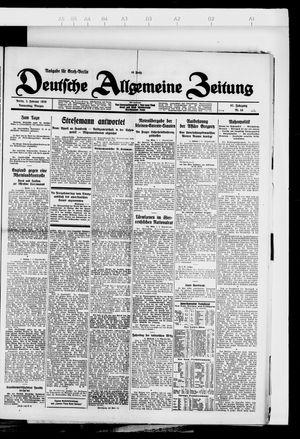 Deutsche allgemeine Zeitung vom 02.02.1928