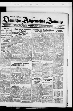 Deutsche allgemeine Zeitung vom 04.02.1928