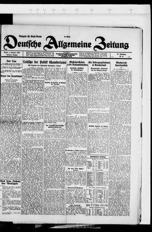 Deutsche allgemeine Zeitung vom 05.02.1928