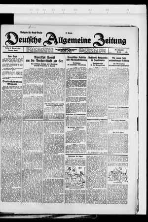 Deutsche allgemeine Zeitung vom 06.02.1928