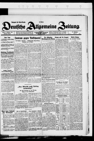 Deutsche allgemeine Zeitung vom 12.02.1928