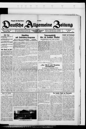 Deutsche allgemeine Zeitung vom 16.02.1928