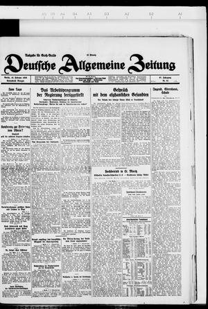Deutsche allgemeine Zeitung vom 18.02.1928