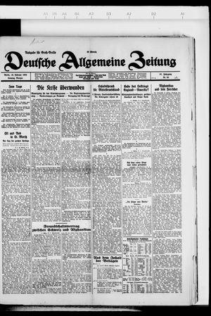 Deutsche allgemeine Zeitung vom 19.02.1928