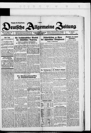 Deutsche allgemeine Zeitung on Feb 25, 1928