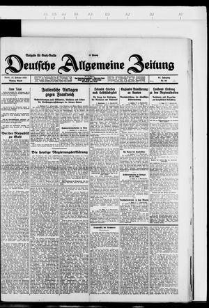 Deutsche allgemeine Zeitung vom 27.02.1928